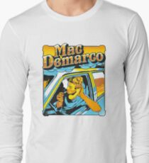mac demarco in his car Long Sleeve T-Shirt