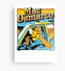 mac demarco in his car Metal Print