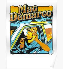 mac demarco in his car Poster
