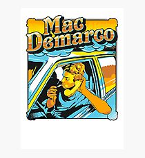 mac demarco in his car Photographic Print