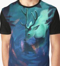Mystic Deer Graphic T-Shirt