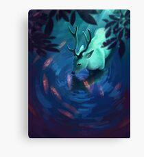 Mystic Deer Canvas Print