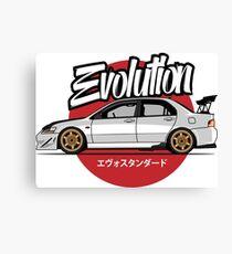 Automotive Evo Canvas Print