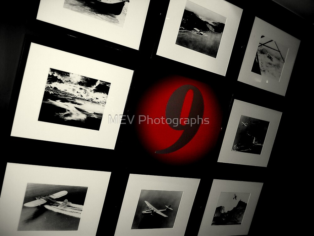 Flying Red Nine by MEV Photographs