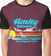 Jaws - Amity Island Graphic T-Shirt