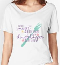Magic in my Heart - Part of Your World - Light Women's Relaxed Fit T-Shirt