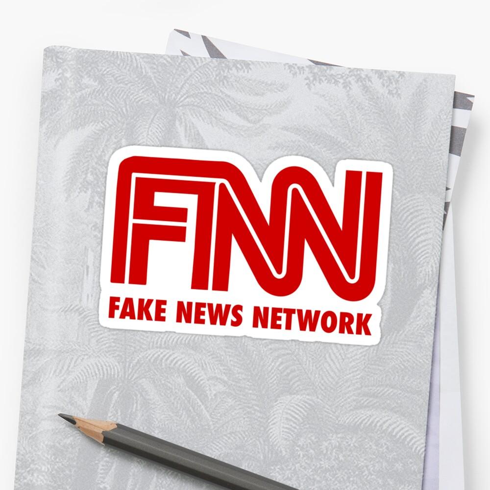 FNN: Red de noticias falsas Pegatina