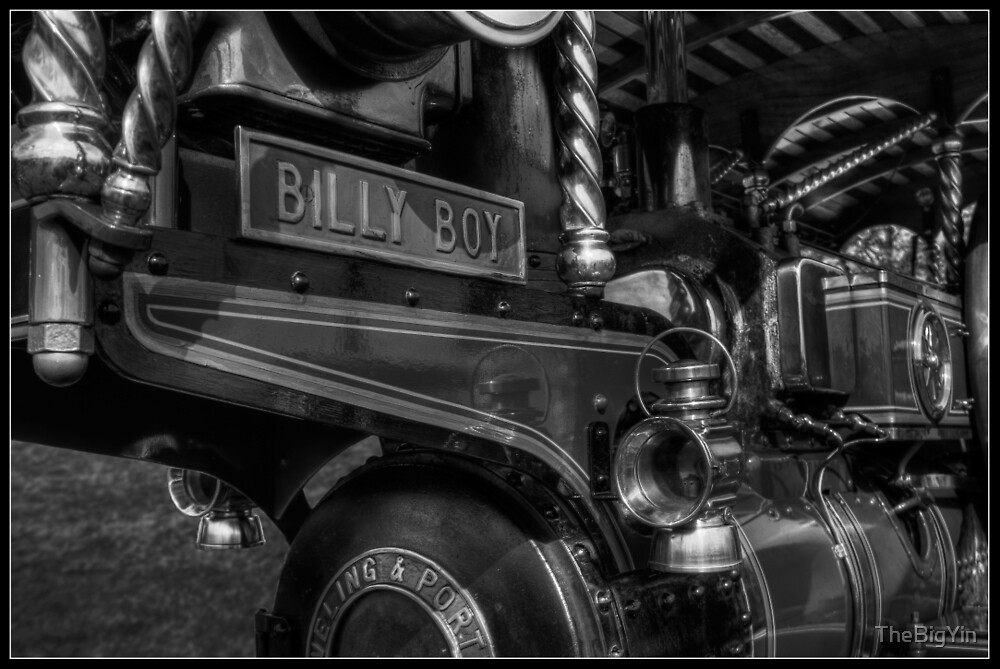 Billy Boy (B&W) by TheBigYin