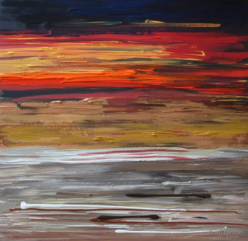 Into the Light - Original SOLD by BradThurston