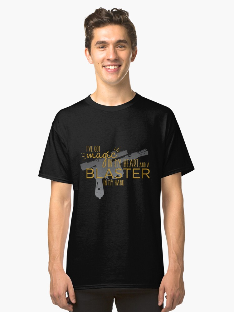 Magic in my Heart - Never Tell Me the Odds Classic T-Shirt Front