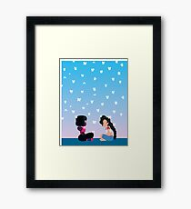 Here Comes A Thought Framed Print