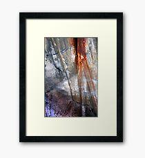 Shine Down Framed Print