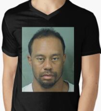 Tiger Woods mug shot T-Shirt