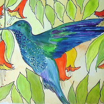 Humming Bird by juliex