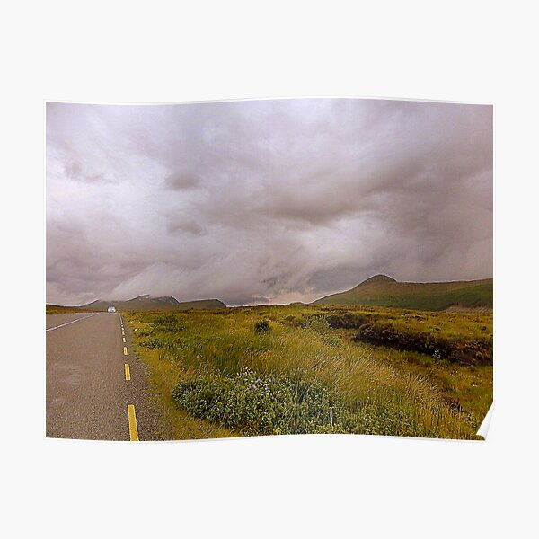 The Road To Errigal..............................Ireland Poster