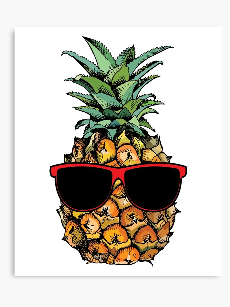 5b9df232f7d3 Cool Pineapple With Sunglasses