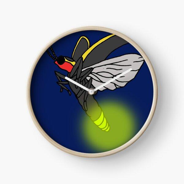 Catching Fireflies Clock