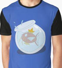 Magikarp Fish Bowl Graphic T-Shirt