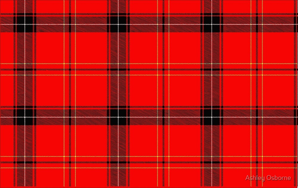 plaid by Ashley Osborne