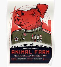 Animal Farm Movie Poster Poster