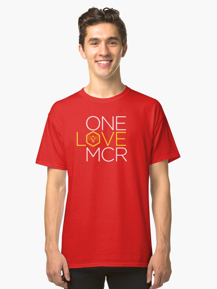 One Love. Manchester Classic T-Shirt Front