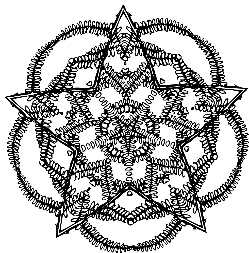 Mandala by seriouscereal