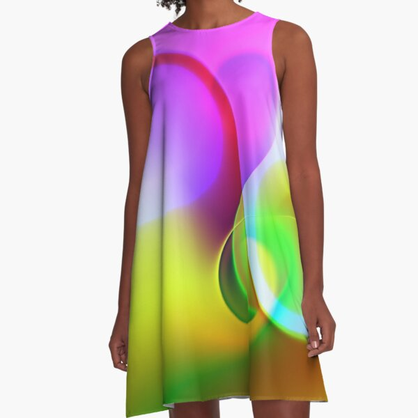the sound of colors -1- A-Linien Kleid