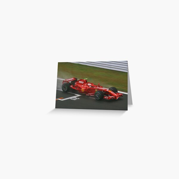 Kimi Raikkonen Greeting Card