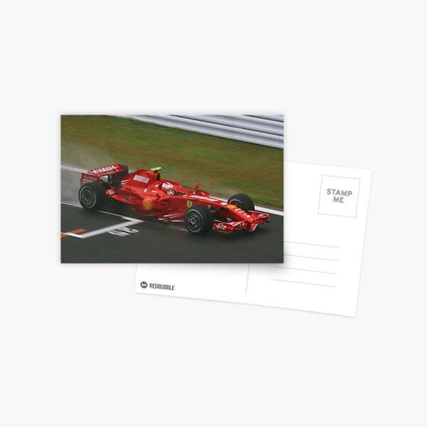 Kimi Raikkonen Postcard