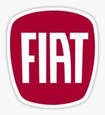 FIAT logo (network) Sticker