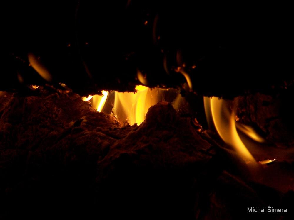 fire by Michal Šimera