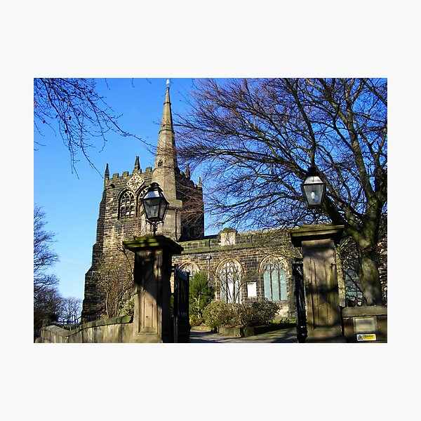 Ormskirk Church  Photographic Print