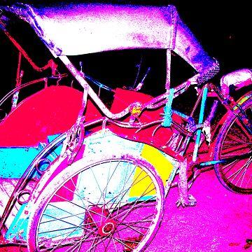 becak alias three cycle by flowerindattic