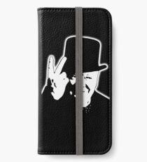 V sign, Victory, V, 1943, WWII, Winston, Churchill, British prime minister,  iPhone Wallet/Case/Skin