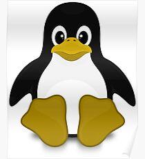 Tux Linux Poster