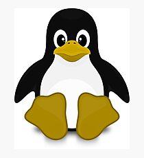 Tux Linux Photographic Print