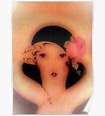 1926 Flapper,,,, House of Harlequin  Poster