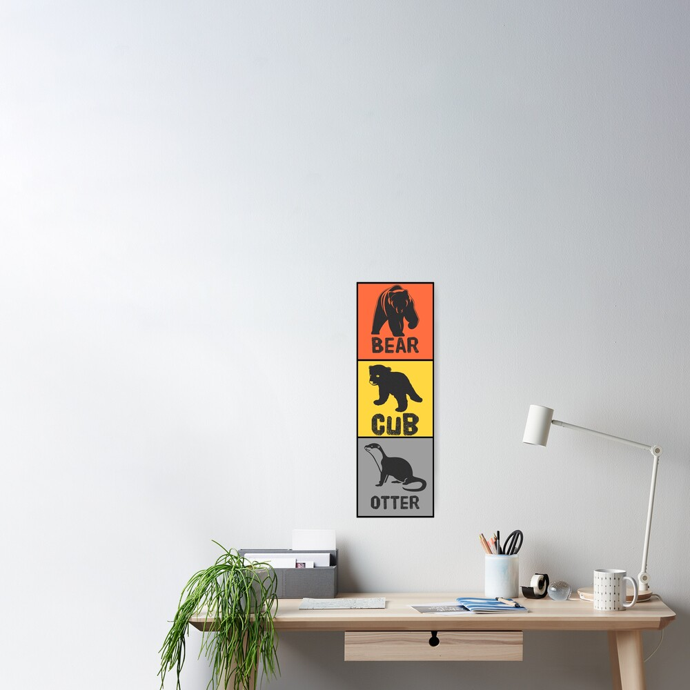 Bear Tribes Poster
