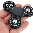 Covfefe Fidget Spinner Sticker - NOT AN ACTUAL SPINNER by Subsonicmonkey