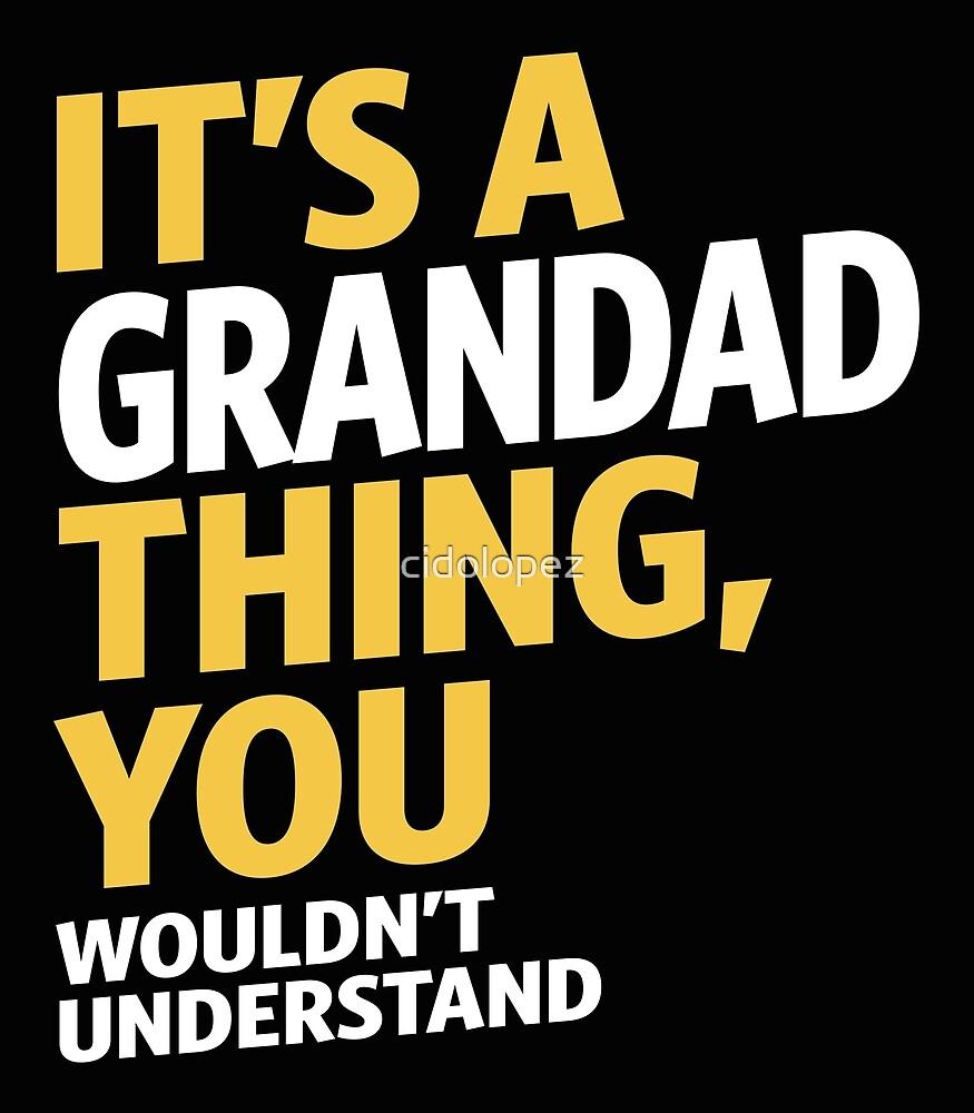 Grandad Thing by cidolopez
