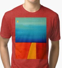 Sun Over the Fields Tri-blend T-Shirt