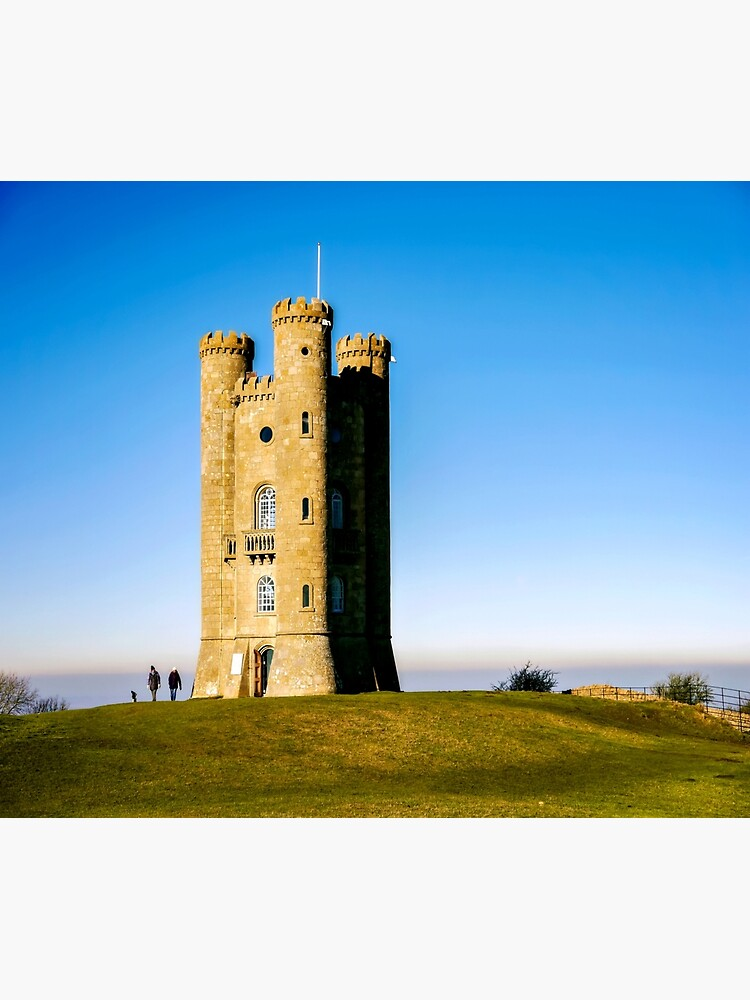 Beautiful Broadway Tower by ScenicViewPics