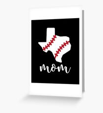 My Favorite Baseball Player Calls Me Mom- Baseball Mom Stuff Greeting Card