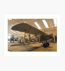 Bristol Fighter  Art Print
