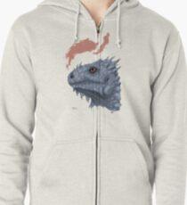 St. George's Dragon Zipped Hoodie