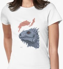 St. George's Dragon Women's Fitted T-Shirt