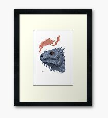 St. George's Dragon Framed Print