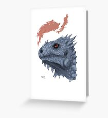 St. George's Dragon Greeting Card