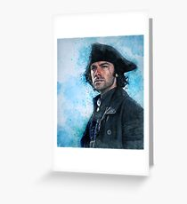 Welcome home Captain Poldark Greeting Card