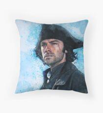 Welcome home Captain Poldark Throw Pillow